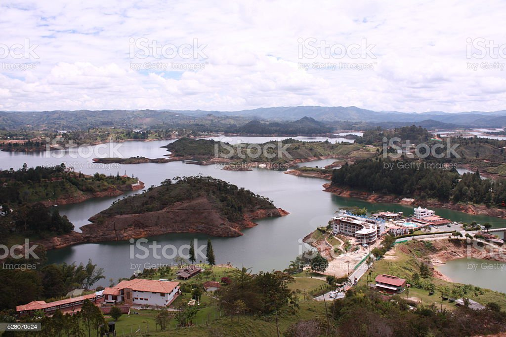 Embalse stock photo