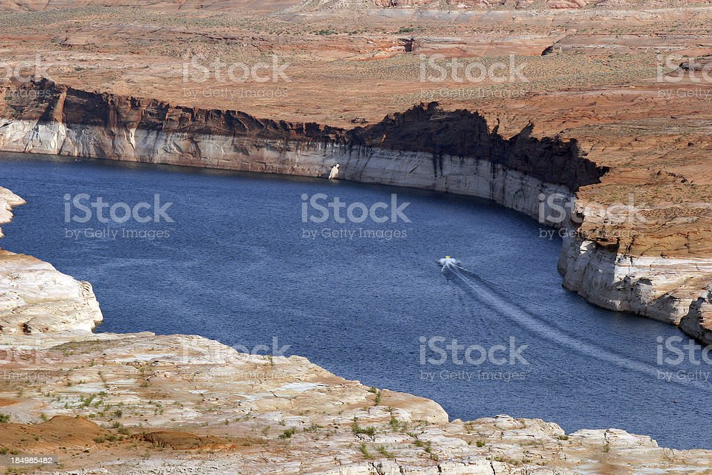 Reservoir Recreation Area royalty-free stock photo