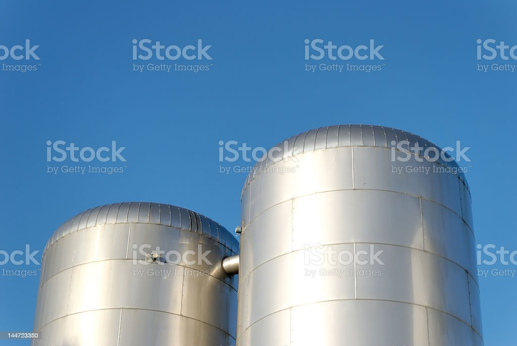 CO2 Reservoirs stock photo