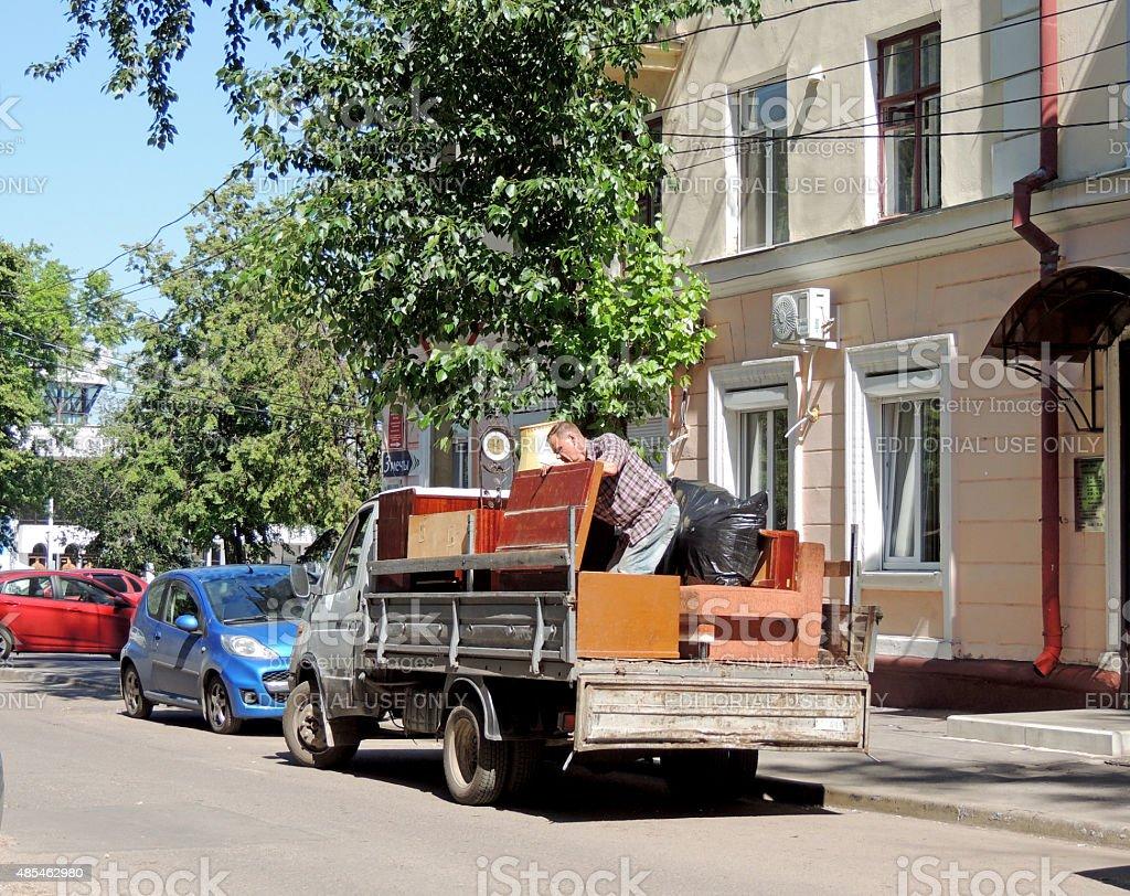 Resettlement stock photo
