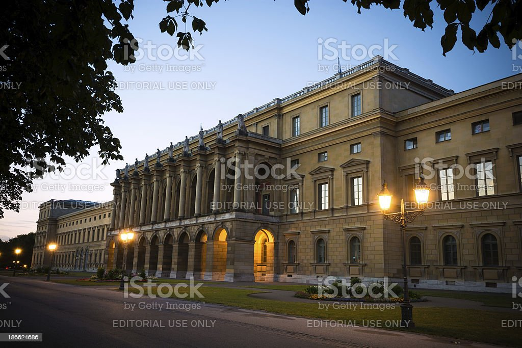 Residenz in Munich, Germany stock photo
