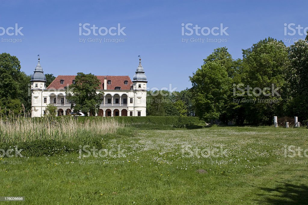residence in Poland royalty-free stock photo