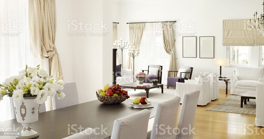 Residence interior stock photo