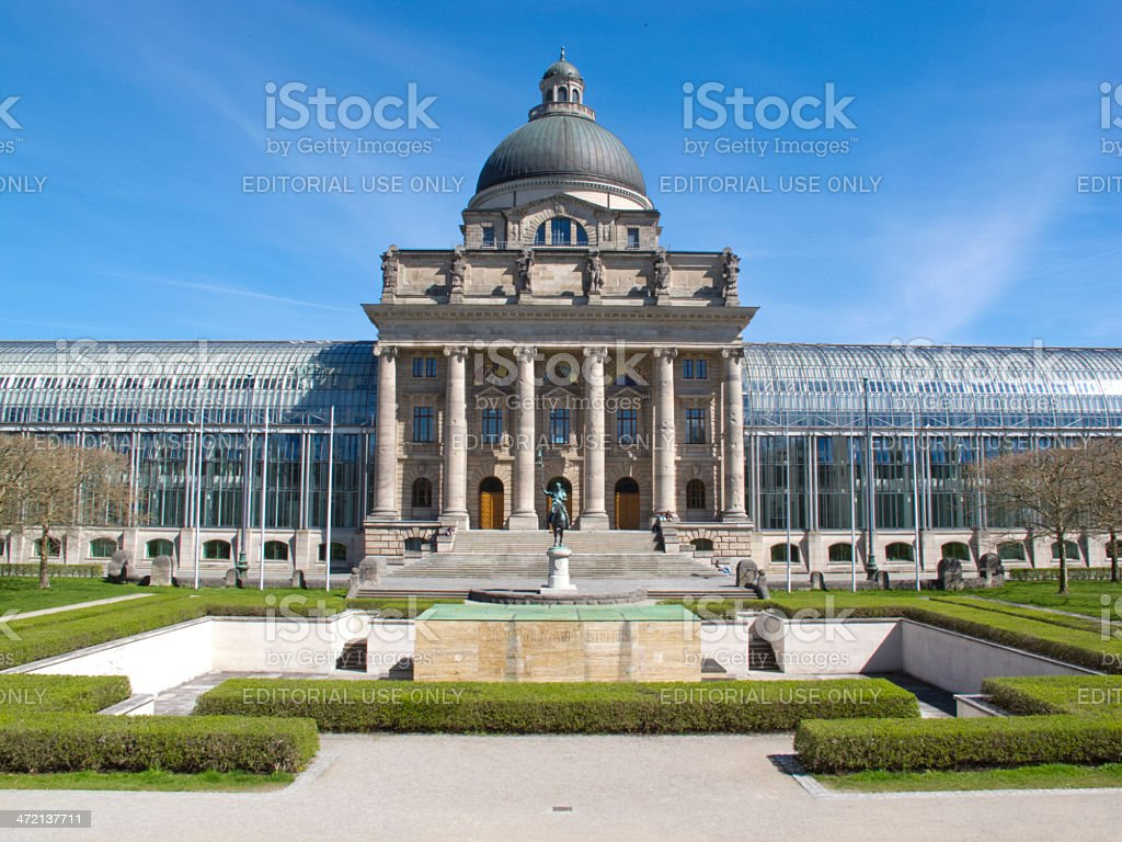 Residence of the Bavarian State Chancellery royalty-free stock photo