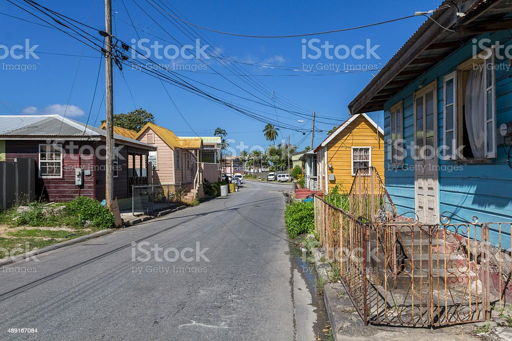 Residental area stock photo