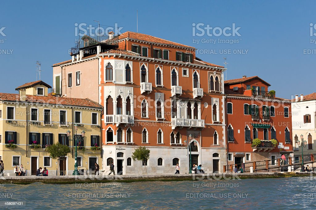 Residental district in Venice royalty-free stock photo