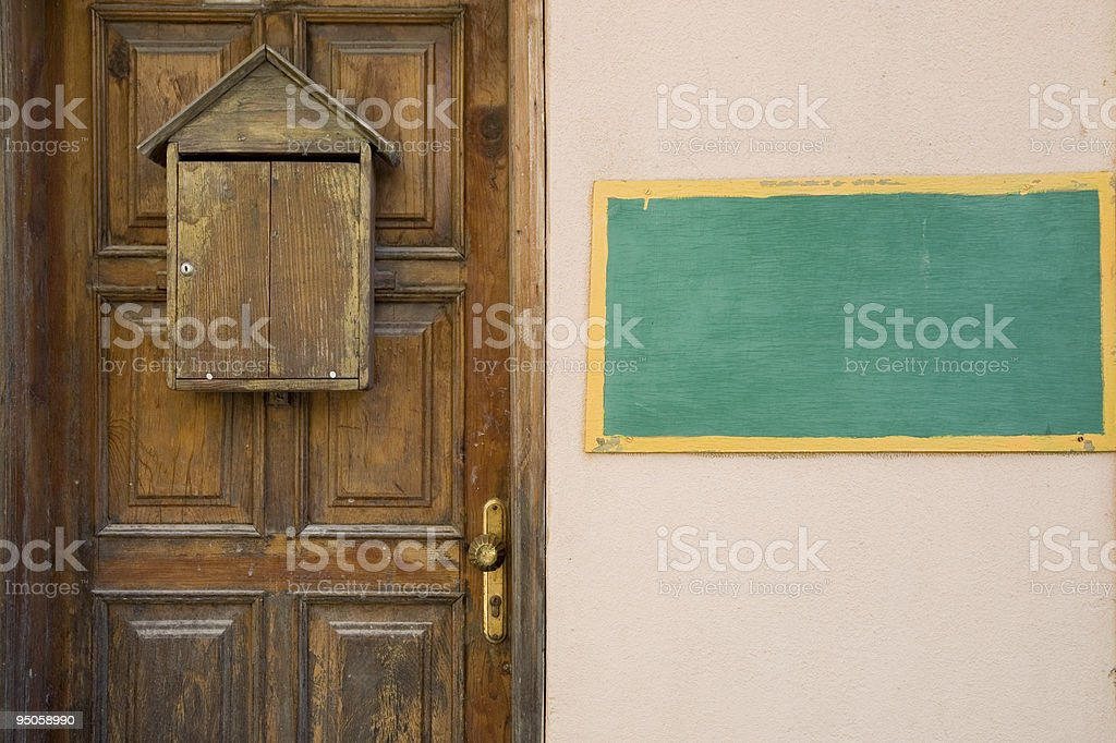 Residental structure stock photo
