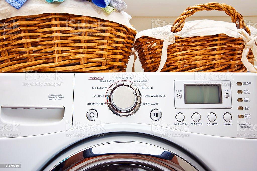 Residental Washer stock photo
