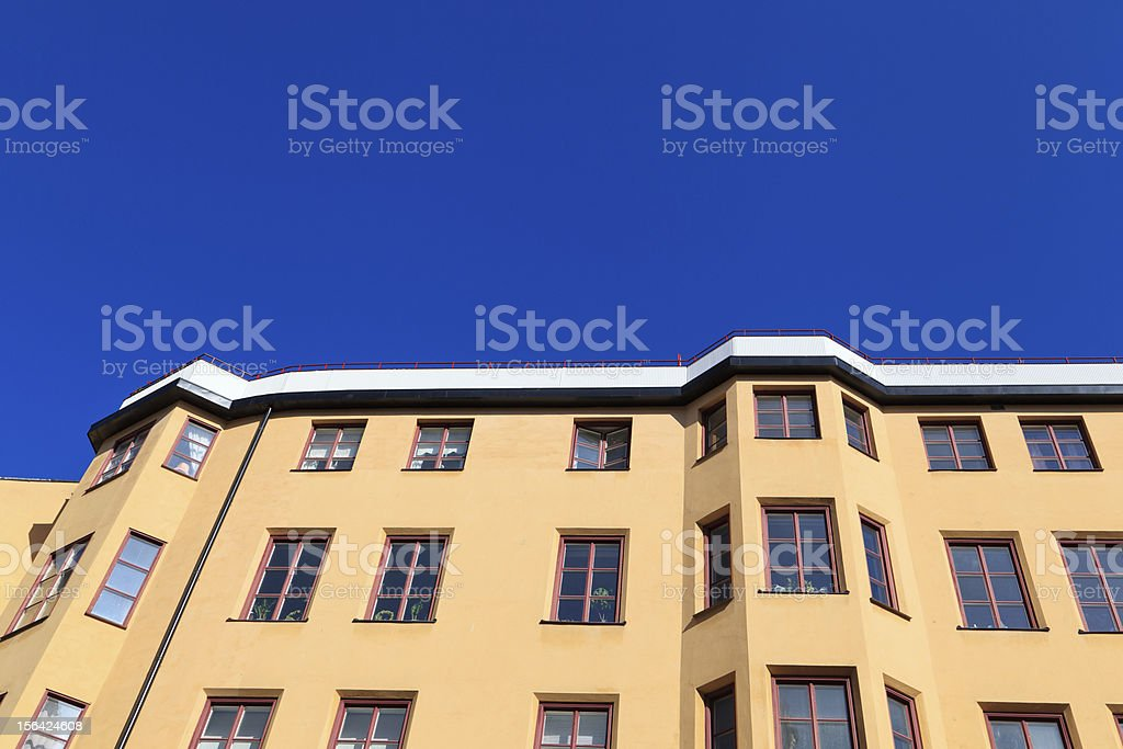 residential apartment building royalty-free stock photo