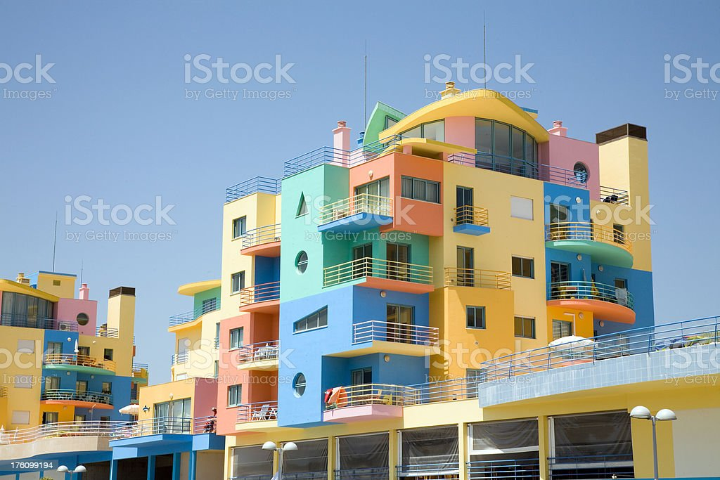 Residential Apartments stock photo