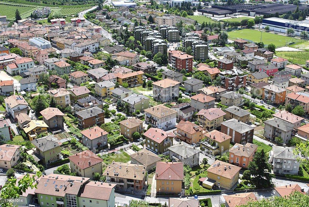 residential area stock photo