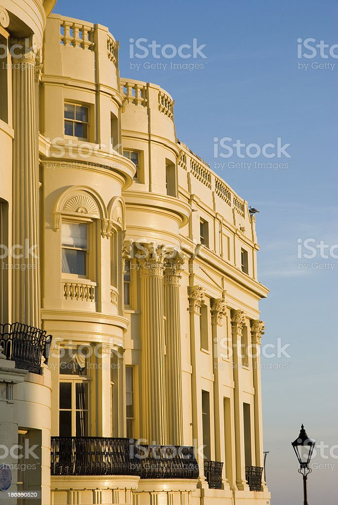 Residential building, Brighton, UK royalty-free stock photo