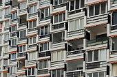 residential building exterior - apartment building facade -