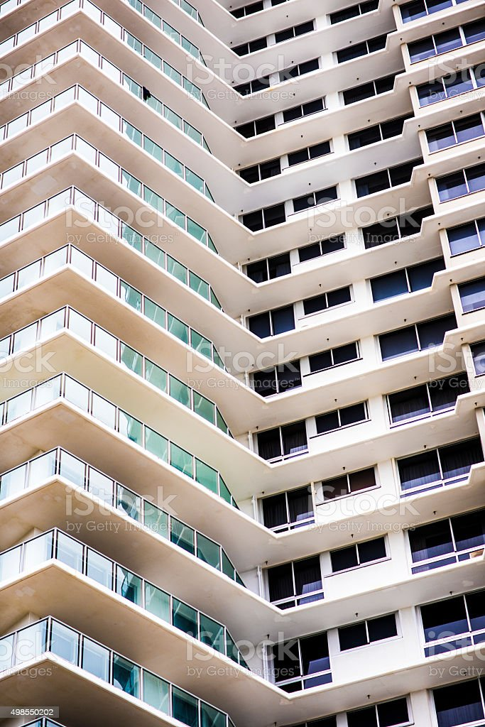 Residential building in Australia stock photo