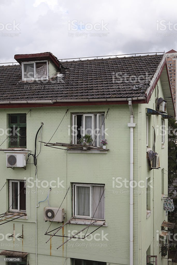 Residential Building in Shanghai royalty-free stock photo