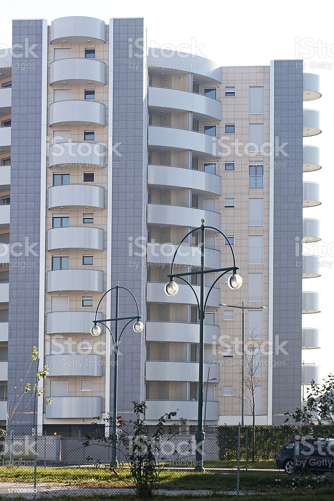 Residential Building royalty-free stock photo