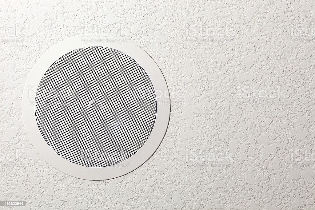 Residential Ceiling Surround Sound Speaker royalty-free stock photo