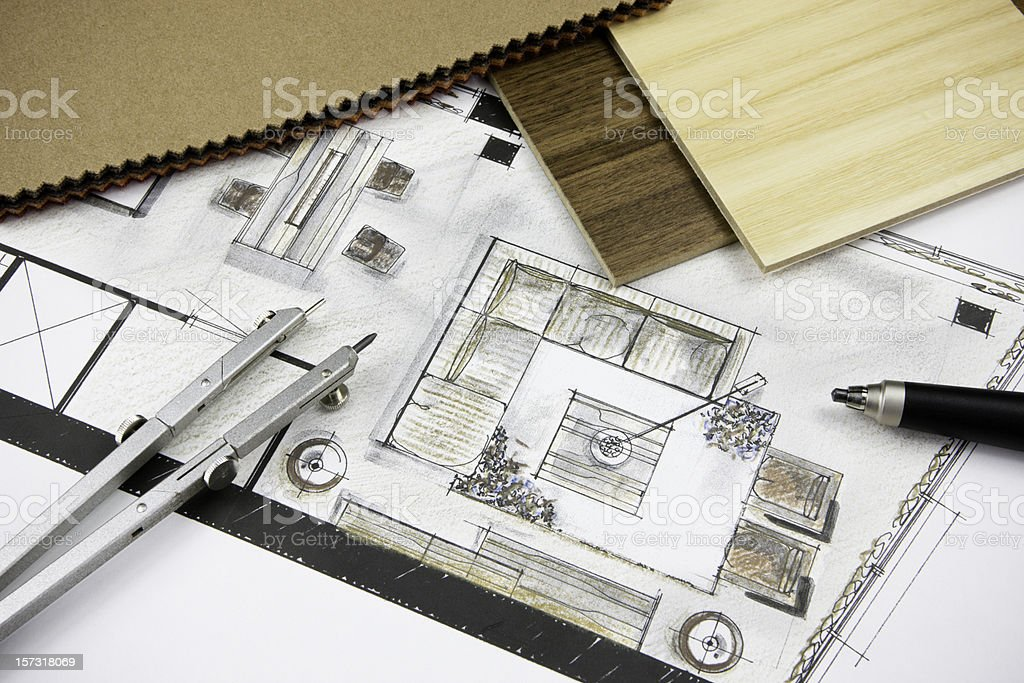 Residential Concept royalty-free stock vector art