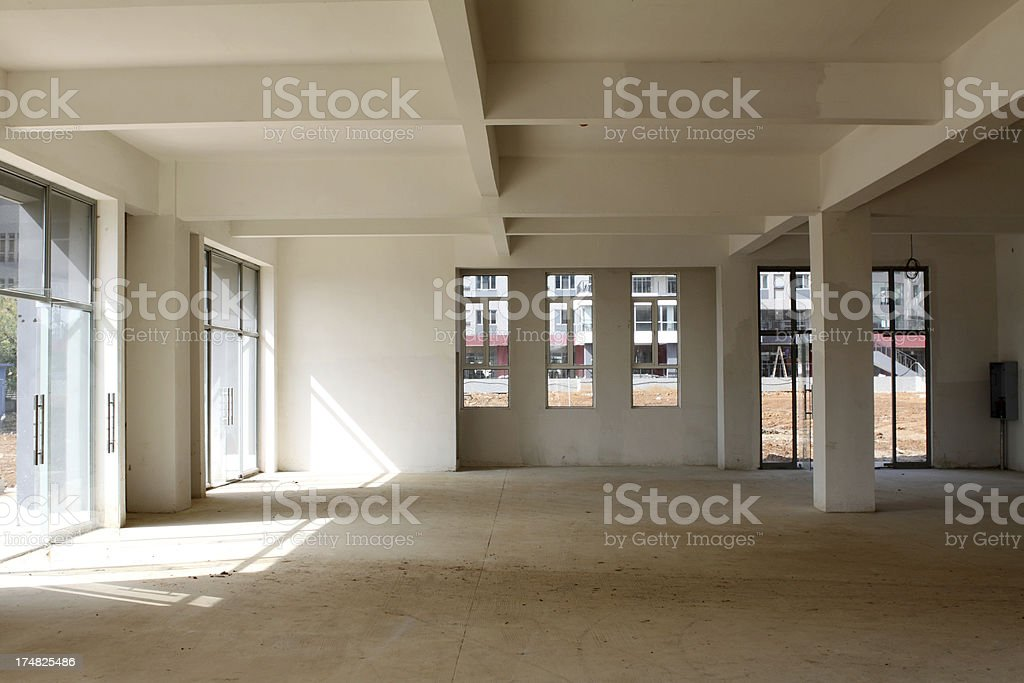 Residential construction interior royalty-free stock photo