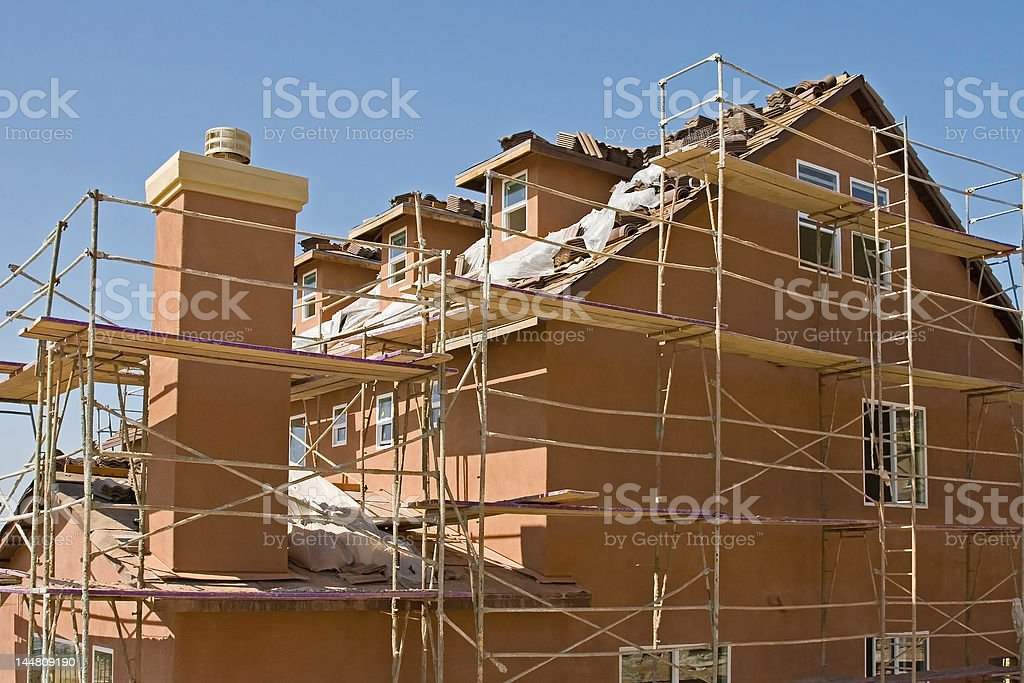 Residential Construction royalty-free stock photo