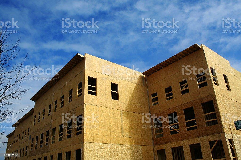 Residential Construction v3 stock photo