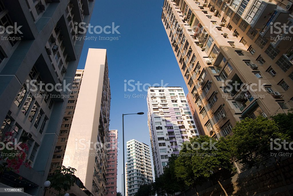 Residential High Rise royalty-free stock photo