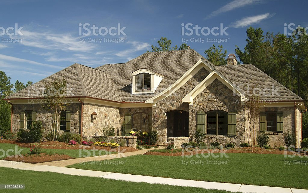 Residential Home royalty-free stock photo