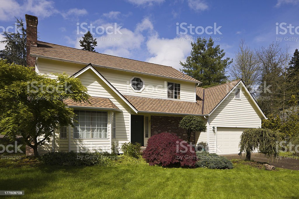 Residential home. stock photo