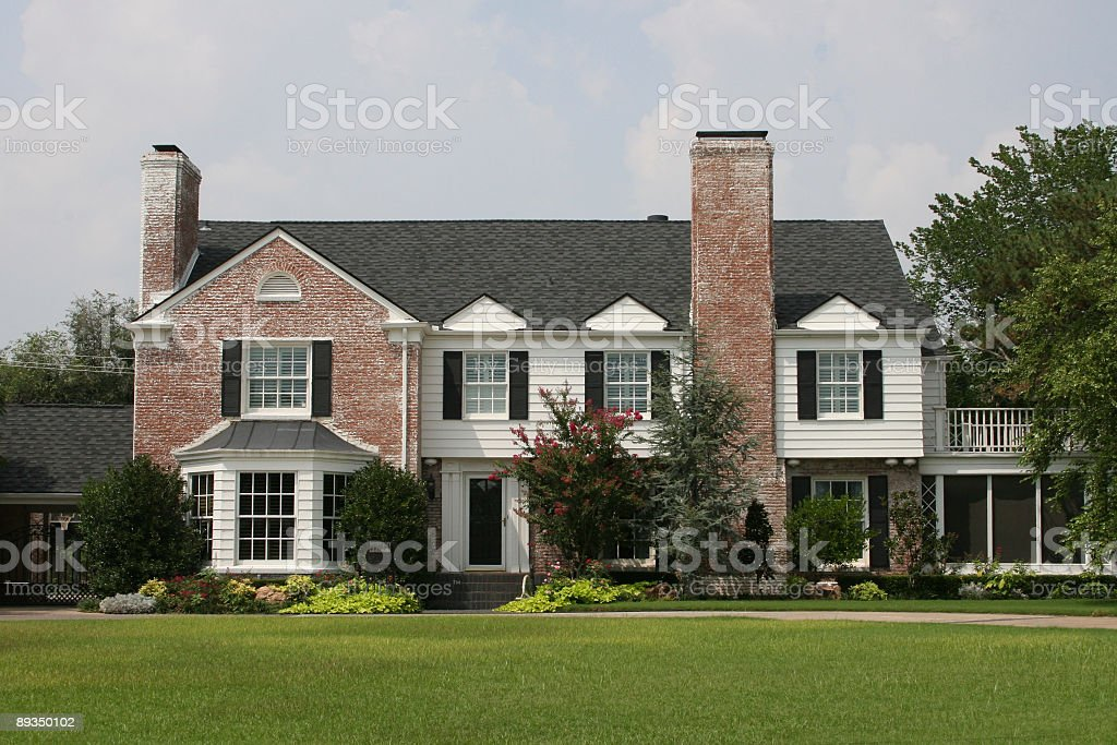 Residential Home stock photo