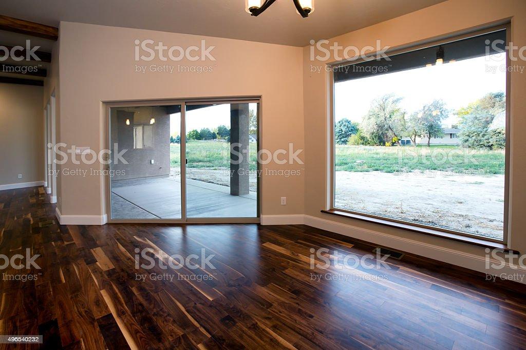Residential House Living Room stock photo