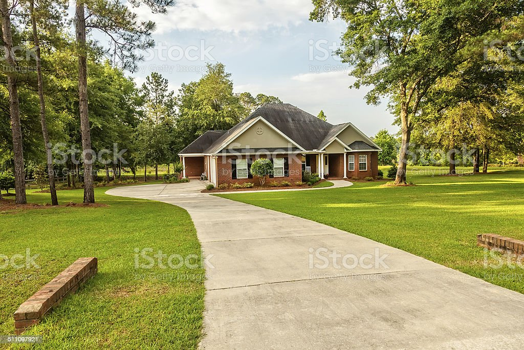 Residential House stock photo