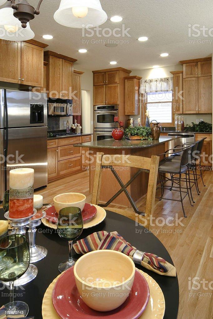 Residential Kitchen. royalty-free stock photo