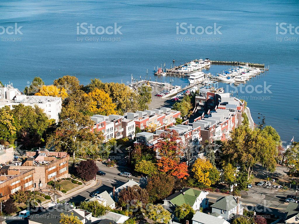 Residential Life New York and New Jersey stock photo