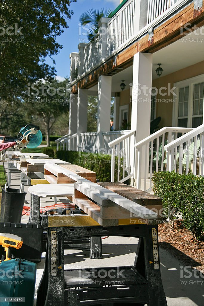 Residential Repairs royalty-free stock photo