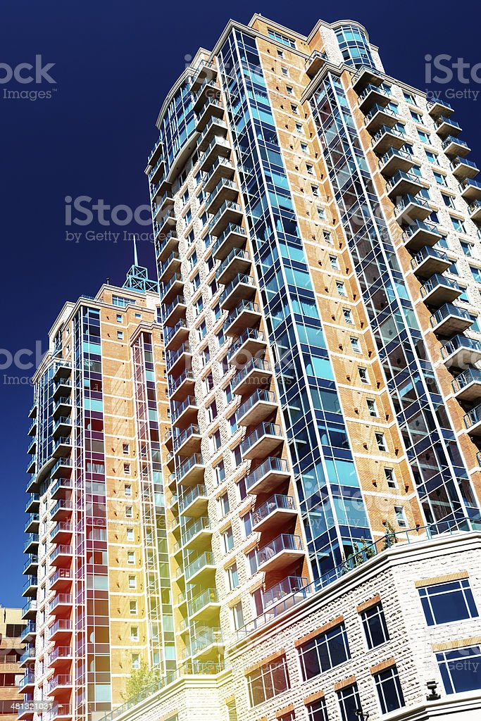 Residential Structure stock photo