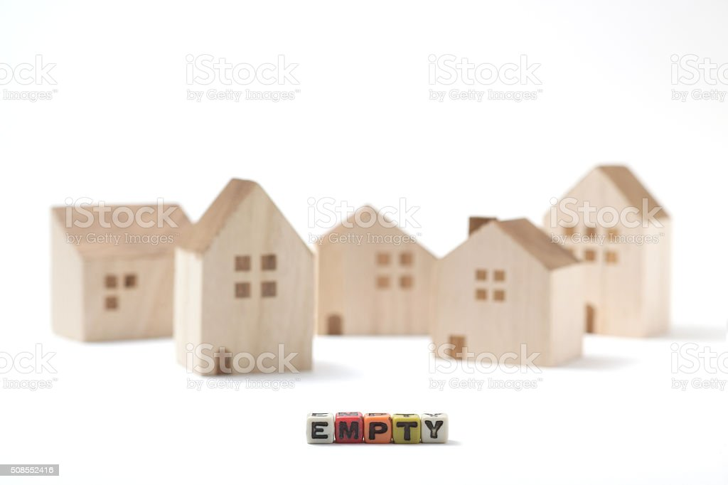 Residential vacant stock photo