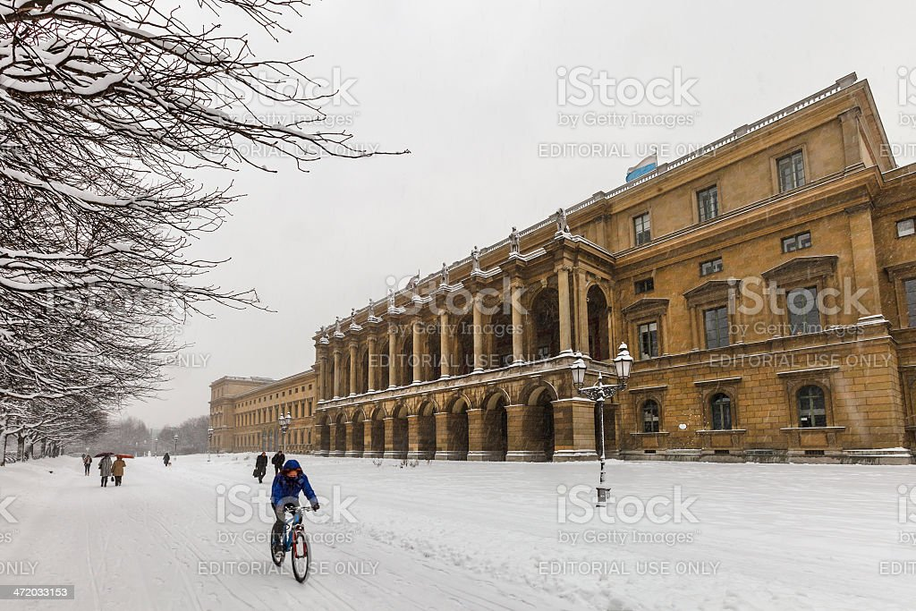 Residenz and Hofgarten, Munich stock photo