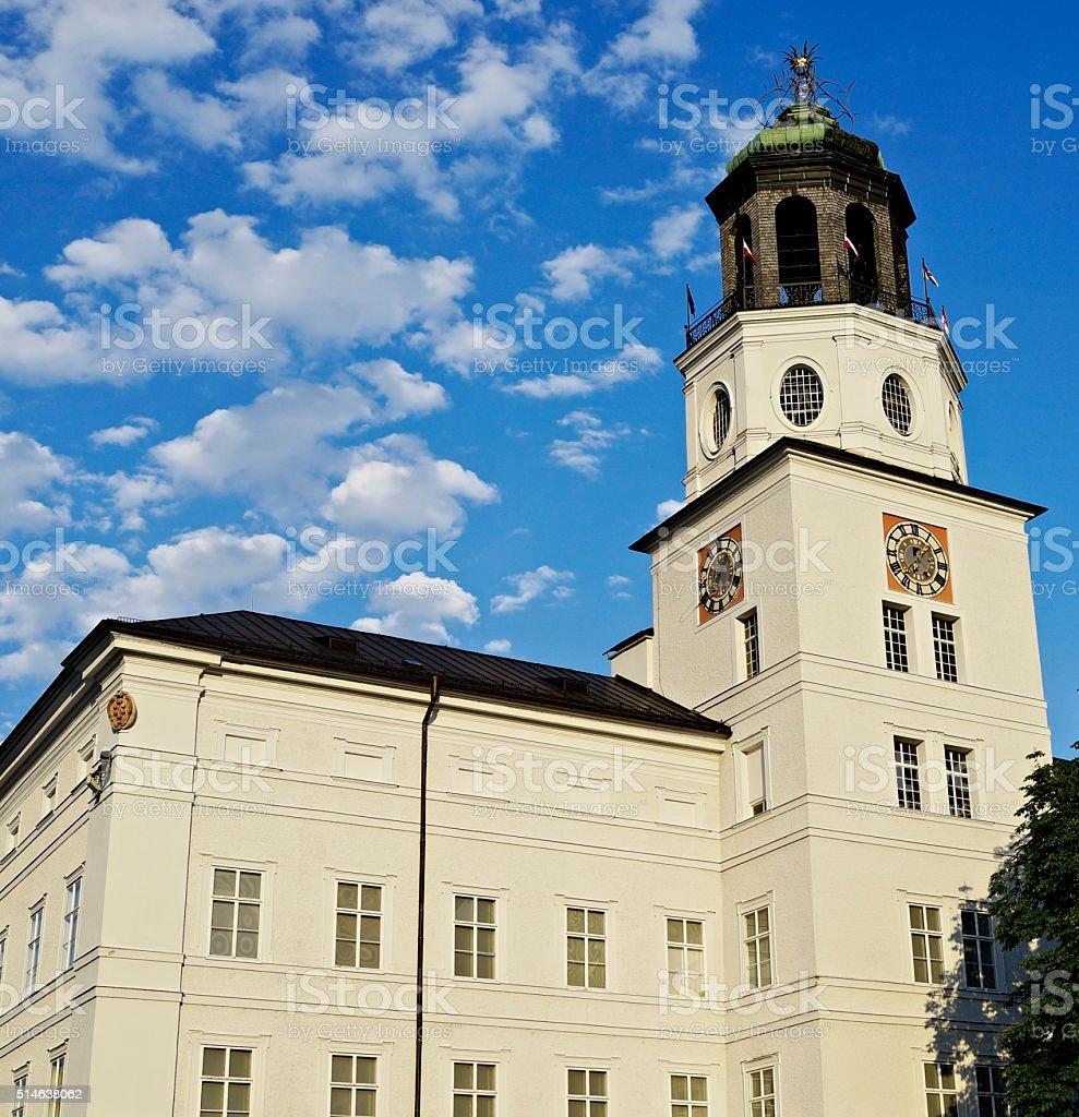Residenz Salzburg stock photo