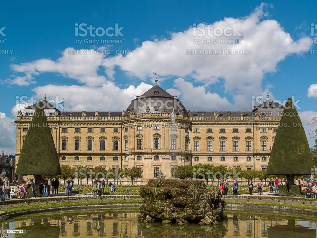 Residenzpark stock photo