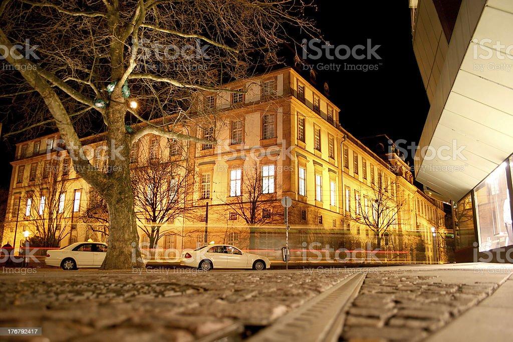 Residenzschloss in Darmstadt royalty-free stock photo