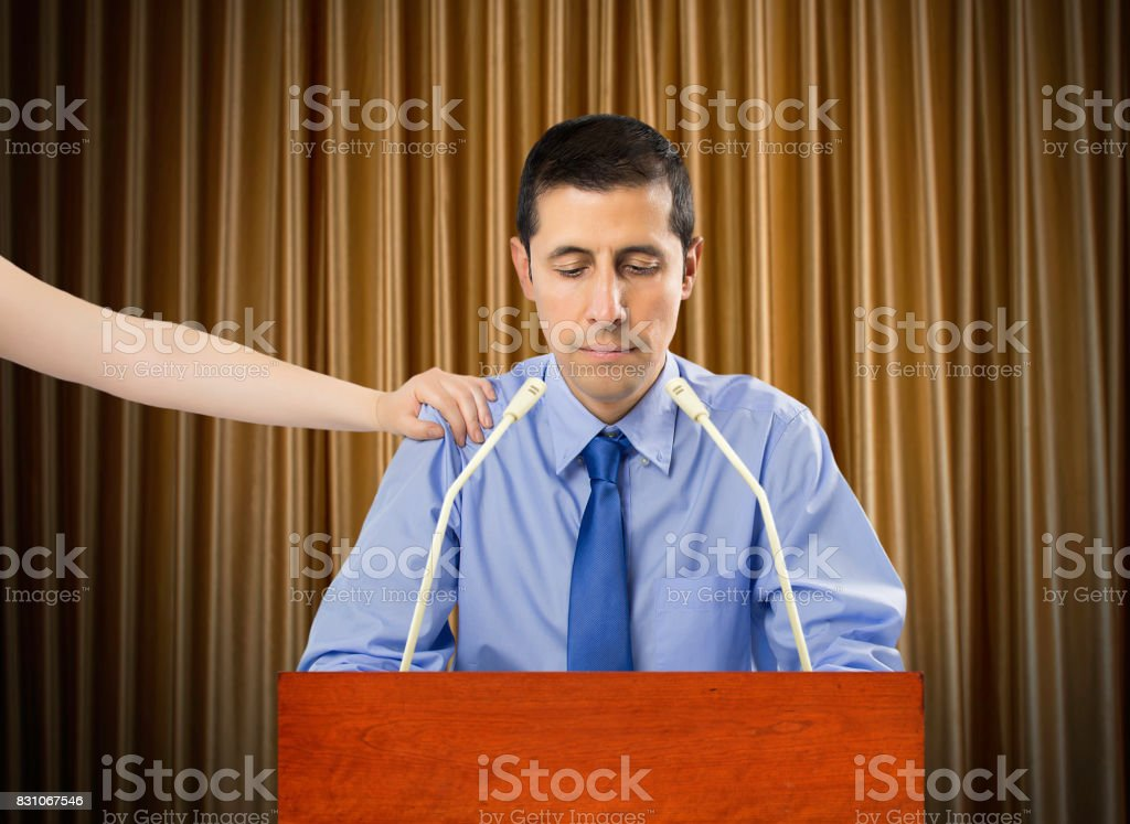 Resignation for the manager stock photo