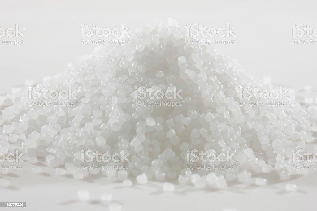 Resin Pellets stock photo