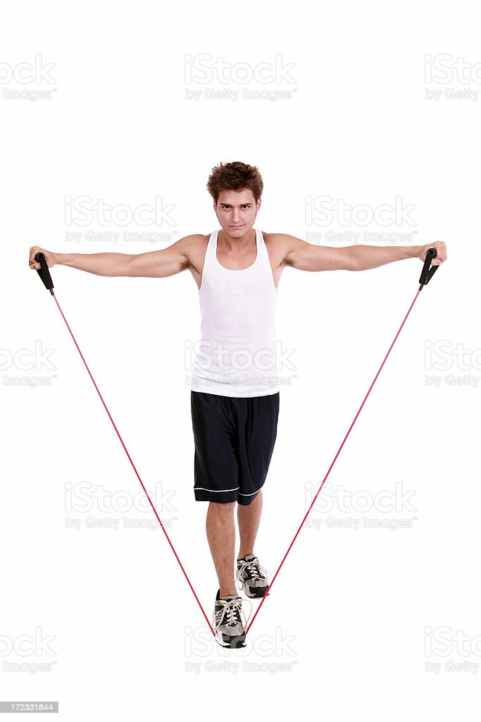 Resistance Band royalty-free stock photo