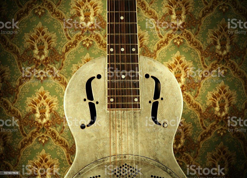 Resonator Guitar stock photo
