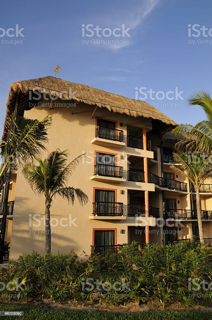 Resort Building royalty-free stock photo