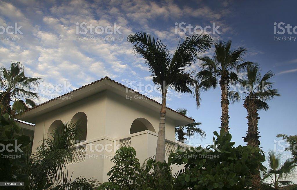 Resort Casita stock photo