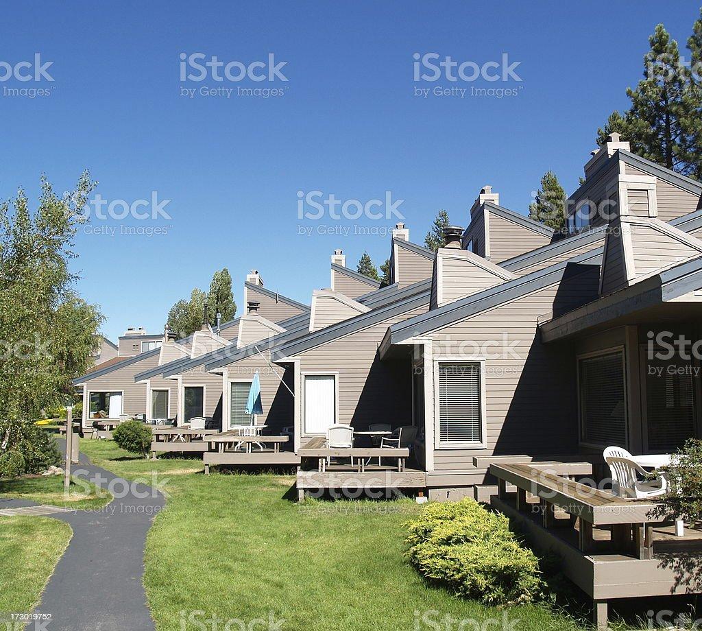 Resort Condominiums stock photo