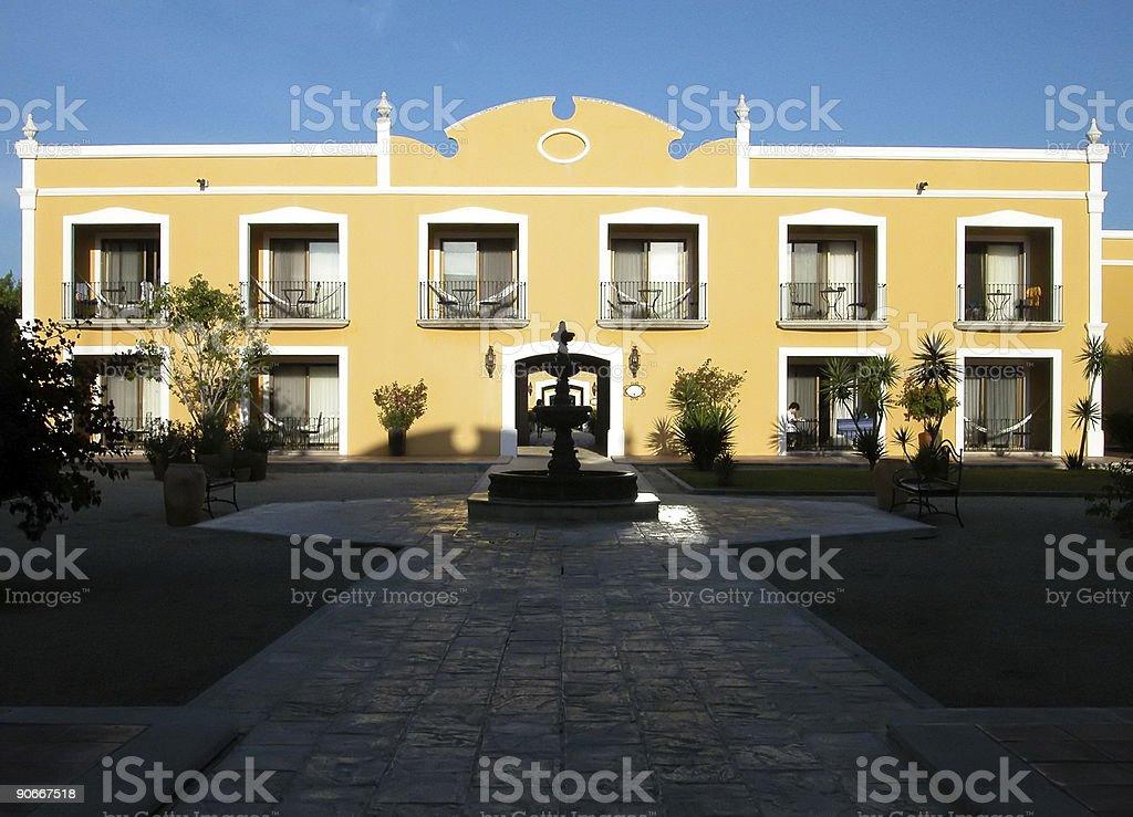 Resort Entrance 2 royalty-free stock photo