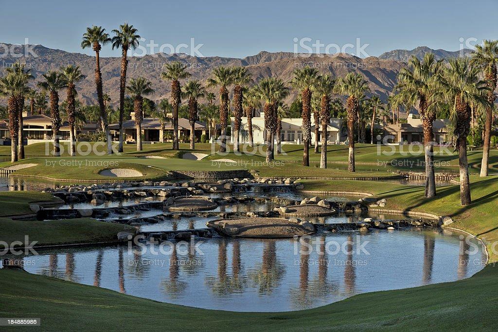 Resort Golf Community stock photo