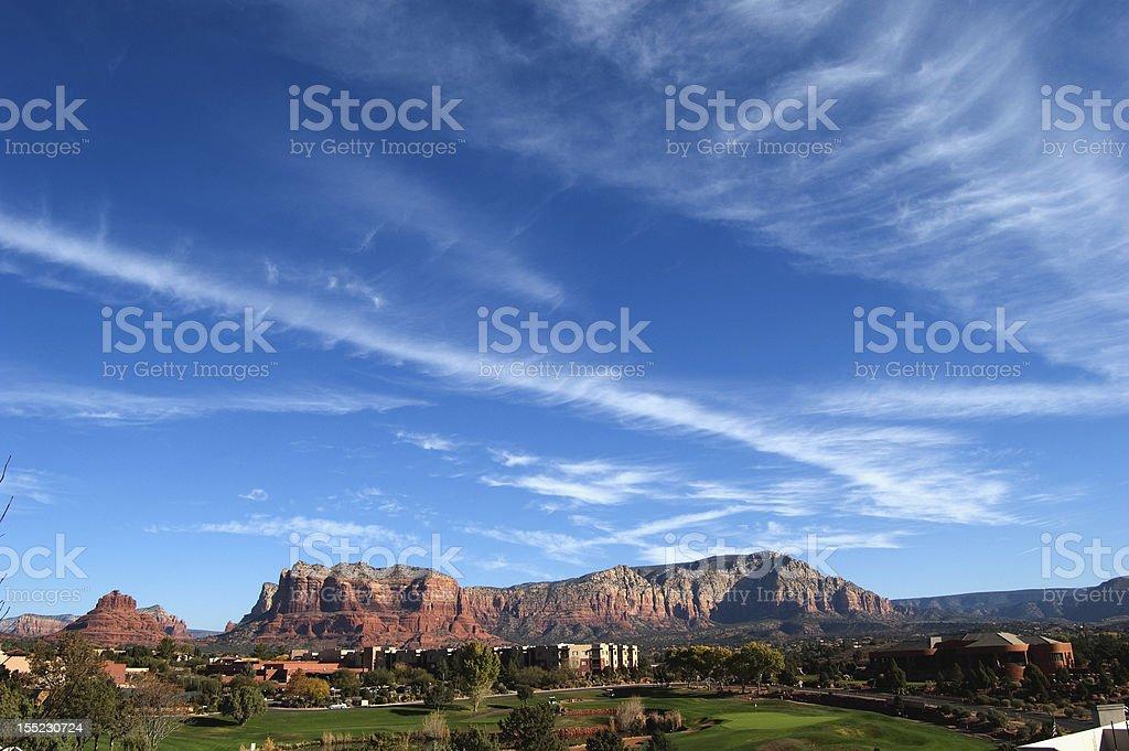 Resort Golf Course stock photo